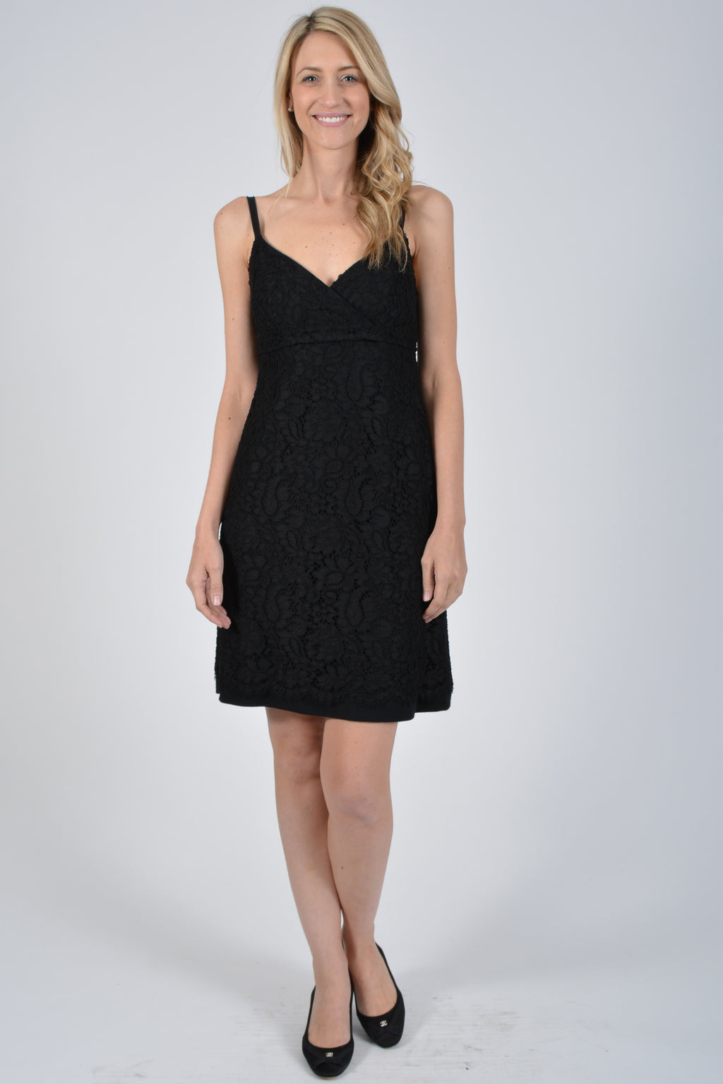 Dolce & Gabbana Black Lace Dress Size 40