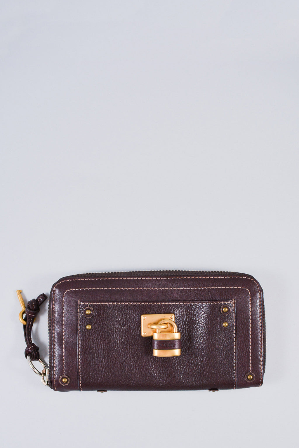 Chloe Brown Paddington Zip-Around Wallet