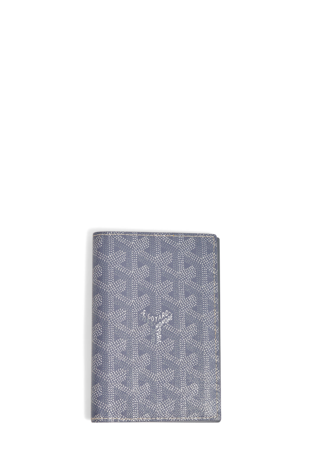 Goyard Grey Passport Holder