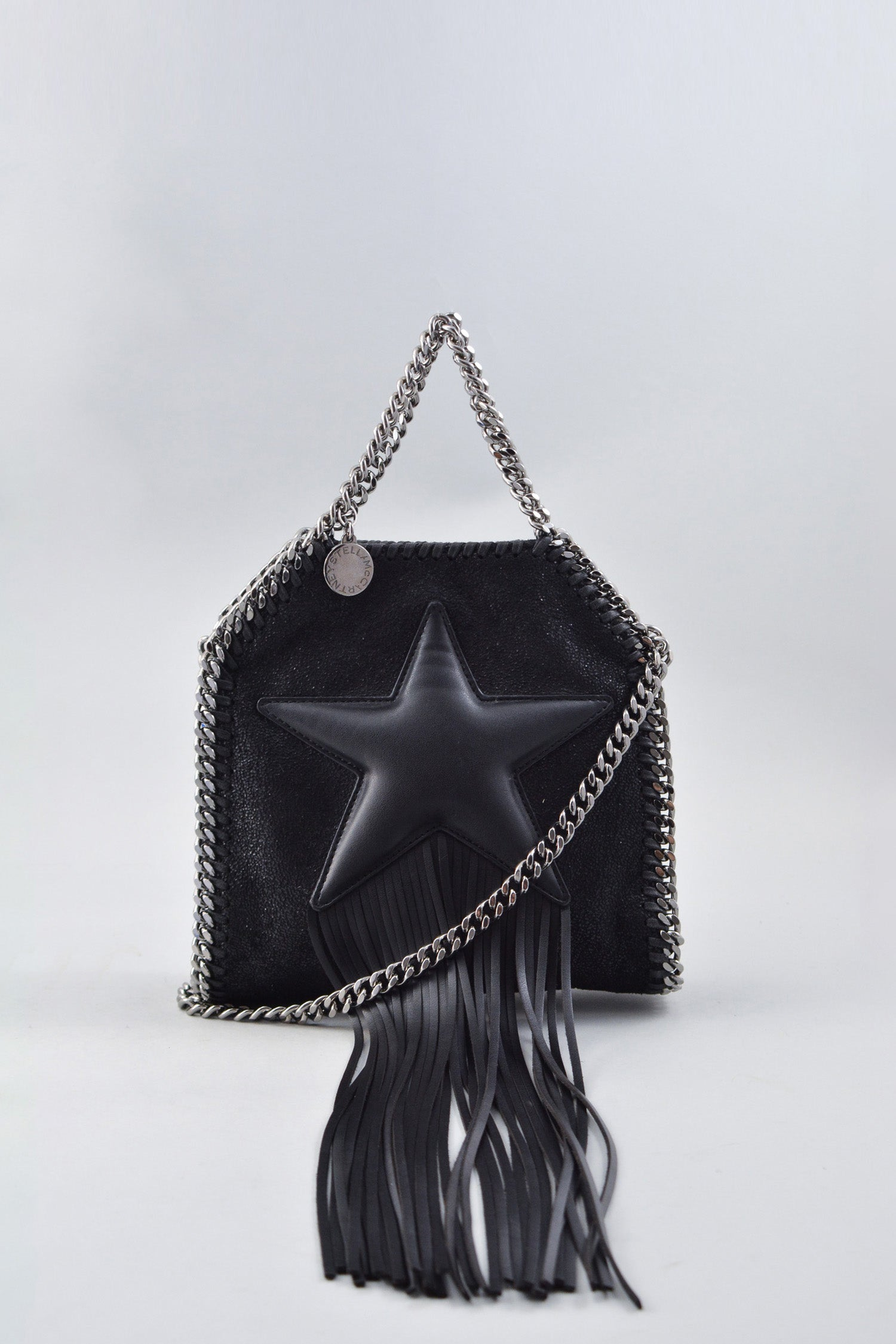Stella McCartney Black Star Mini Falabella