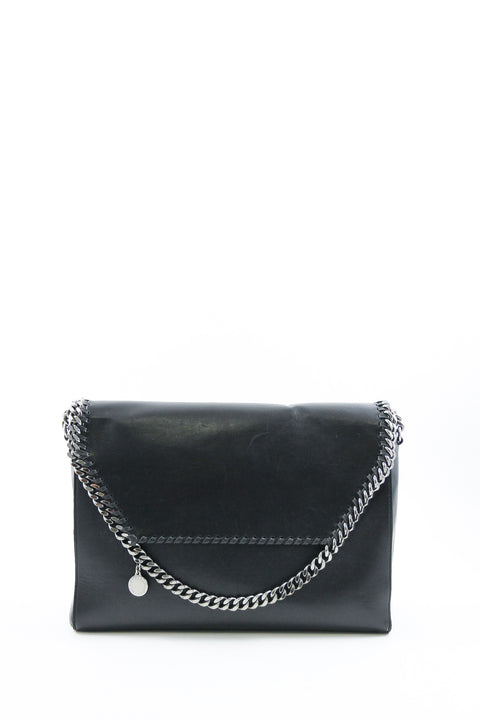 Stella McCartney Black Silver Chain Bag