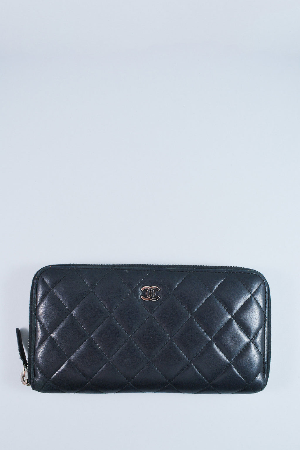 Chanel Classic Large Zip Wallet