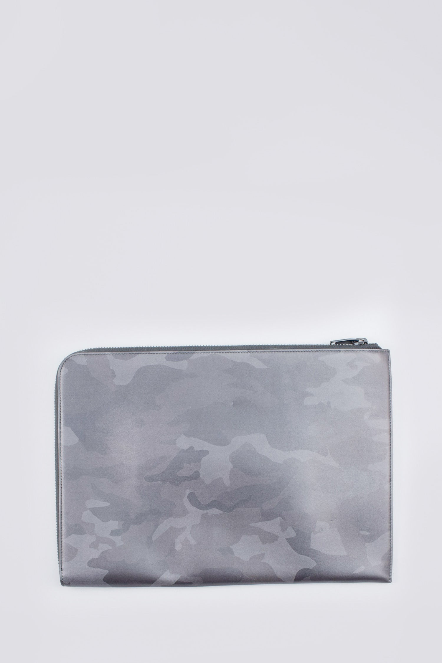 Saint Laurent Black/Grey Camouflage Rider Organizer