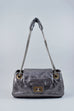 Chanel Small Silver Drill Accordion Flap Bag