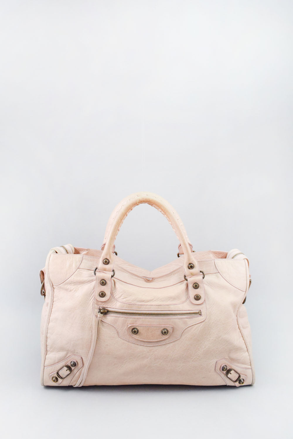 Balenciaga Cream City Bag