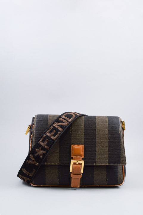 Fendi Vintage Brown Shoulder Bag