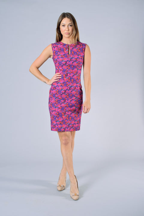 Erdem Pink/Purple Floral Dress Size 4