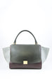 Celine Tricolour Medium Trapeze Bag