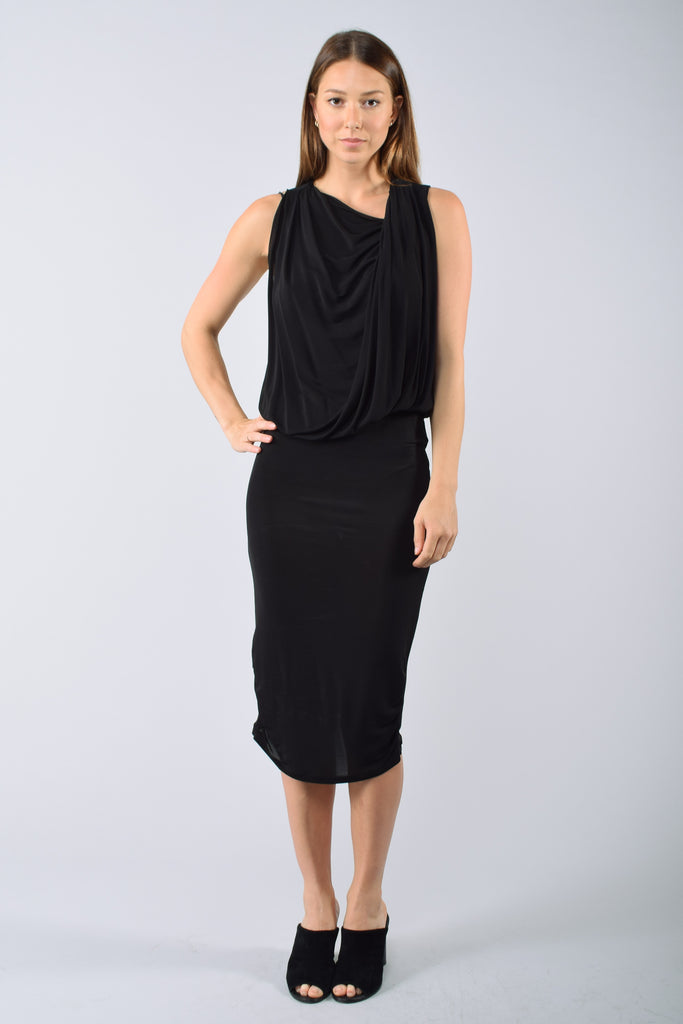 Armani Black Dress Size 44