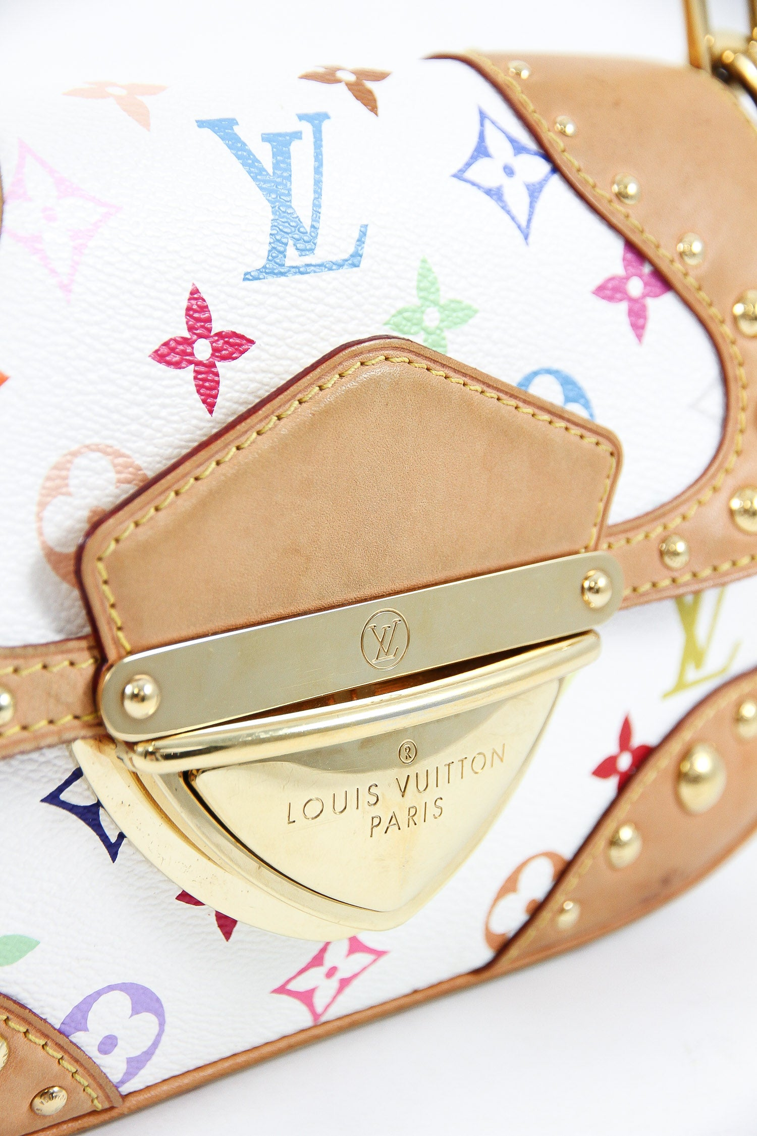 Louis Vuitton White Multicolore Marilyn Bag