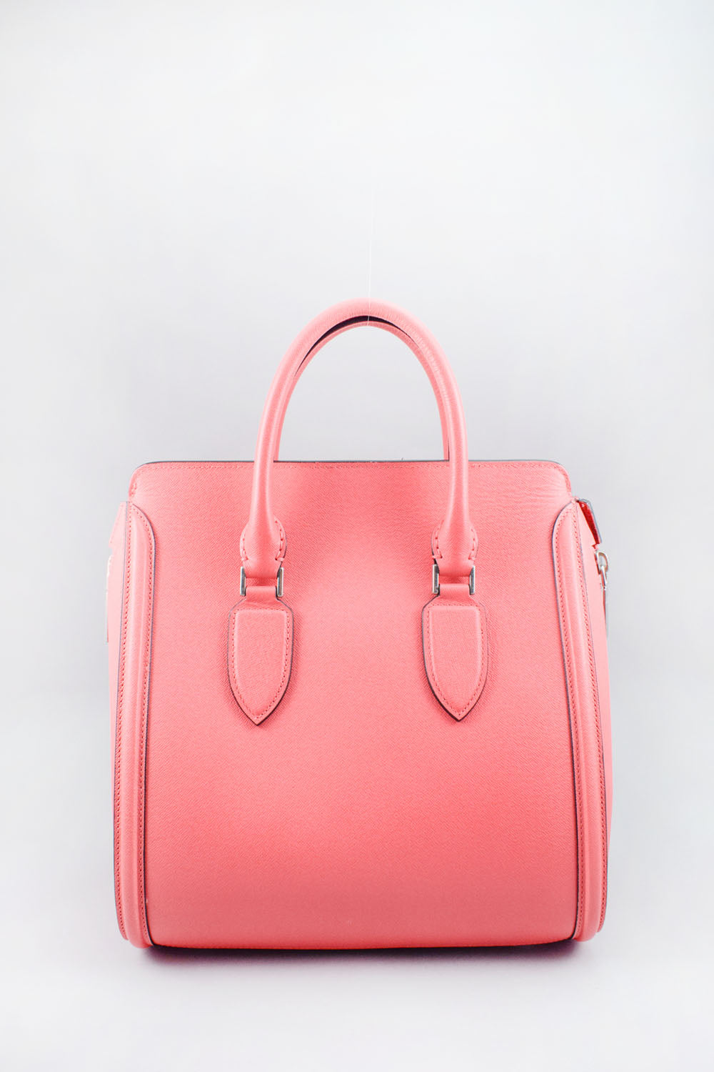 Alexander McQueen Pink Large Leather Heroine Bag