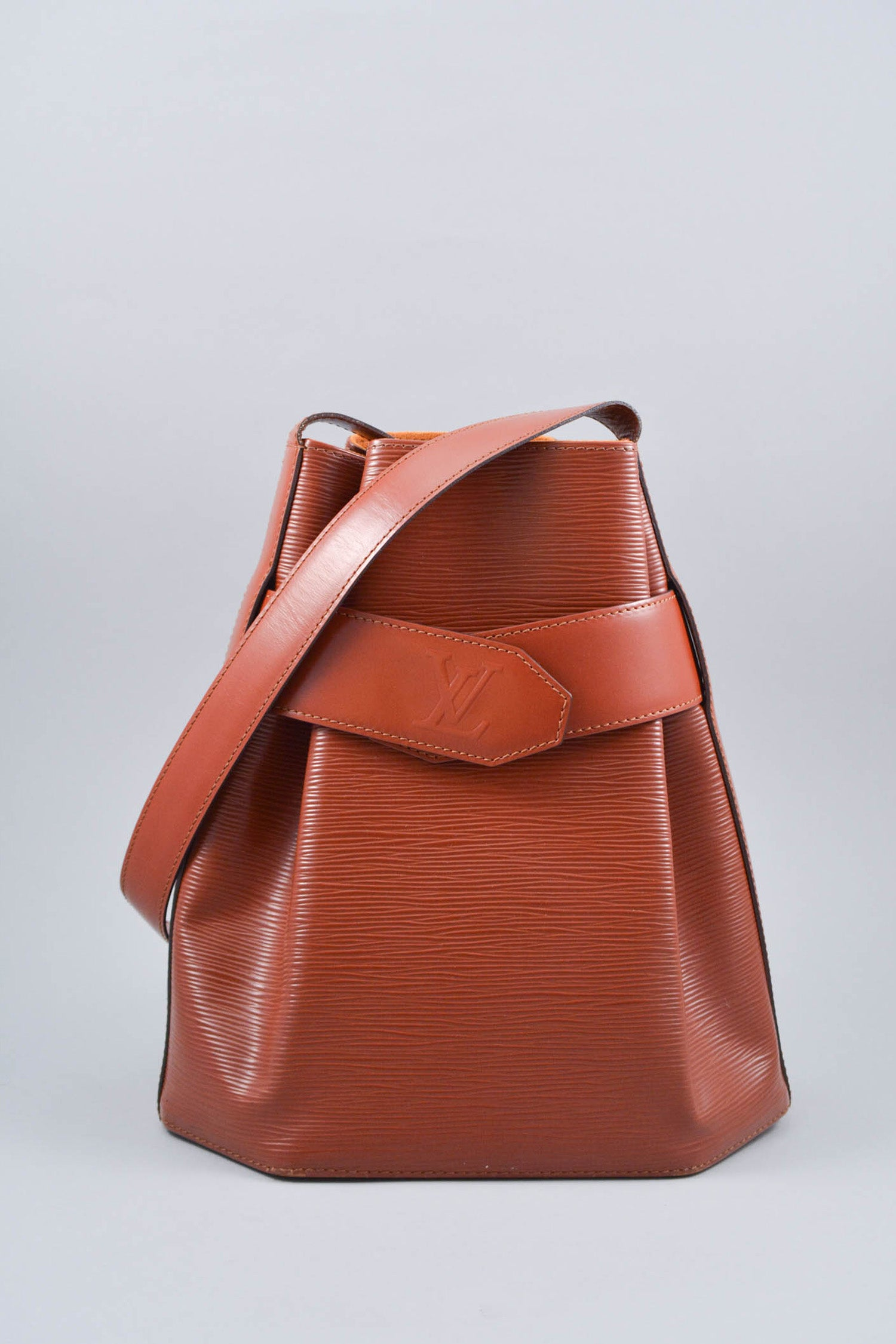 Louis Vuitton Burnt Orange Epi Sac d'Epaule Shoulder Bag