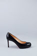 Christian Louboutin Black Patent Simple Pumps 85 Size 35.5