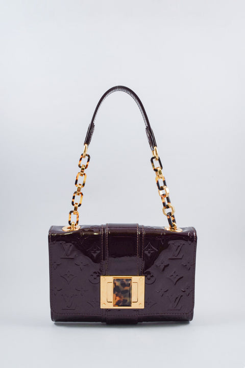 Louis Vuitton Amarante Vernis Vermont Avenue Bag