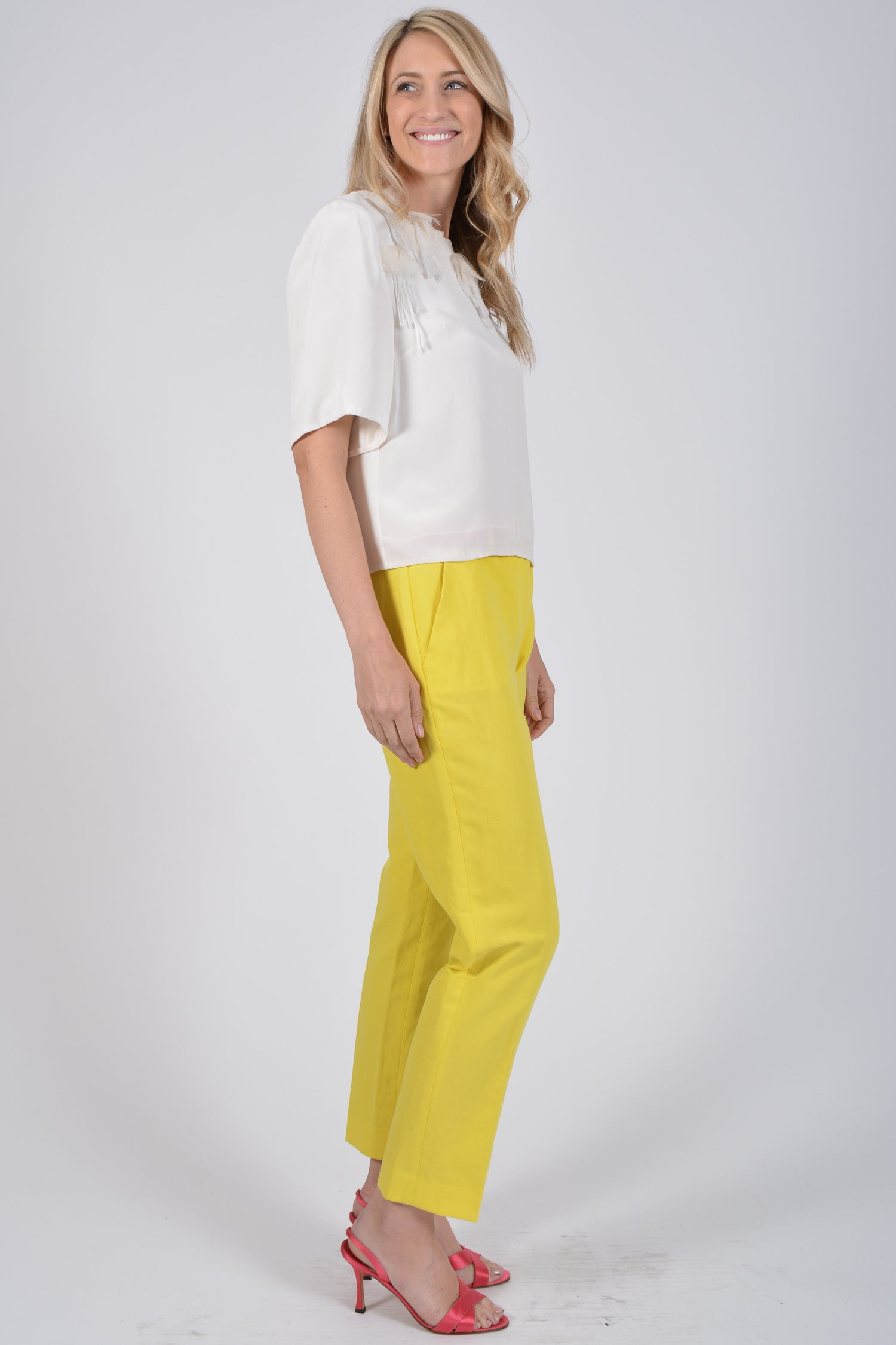 Missoni Yellow Trousers Size S