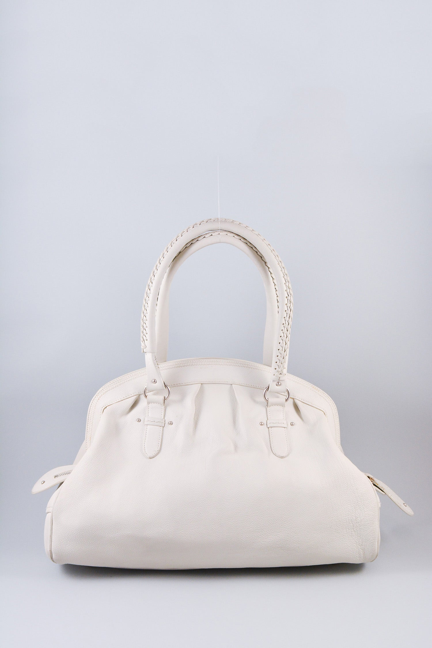 Christian Dior White Leather My Dior Bag