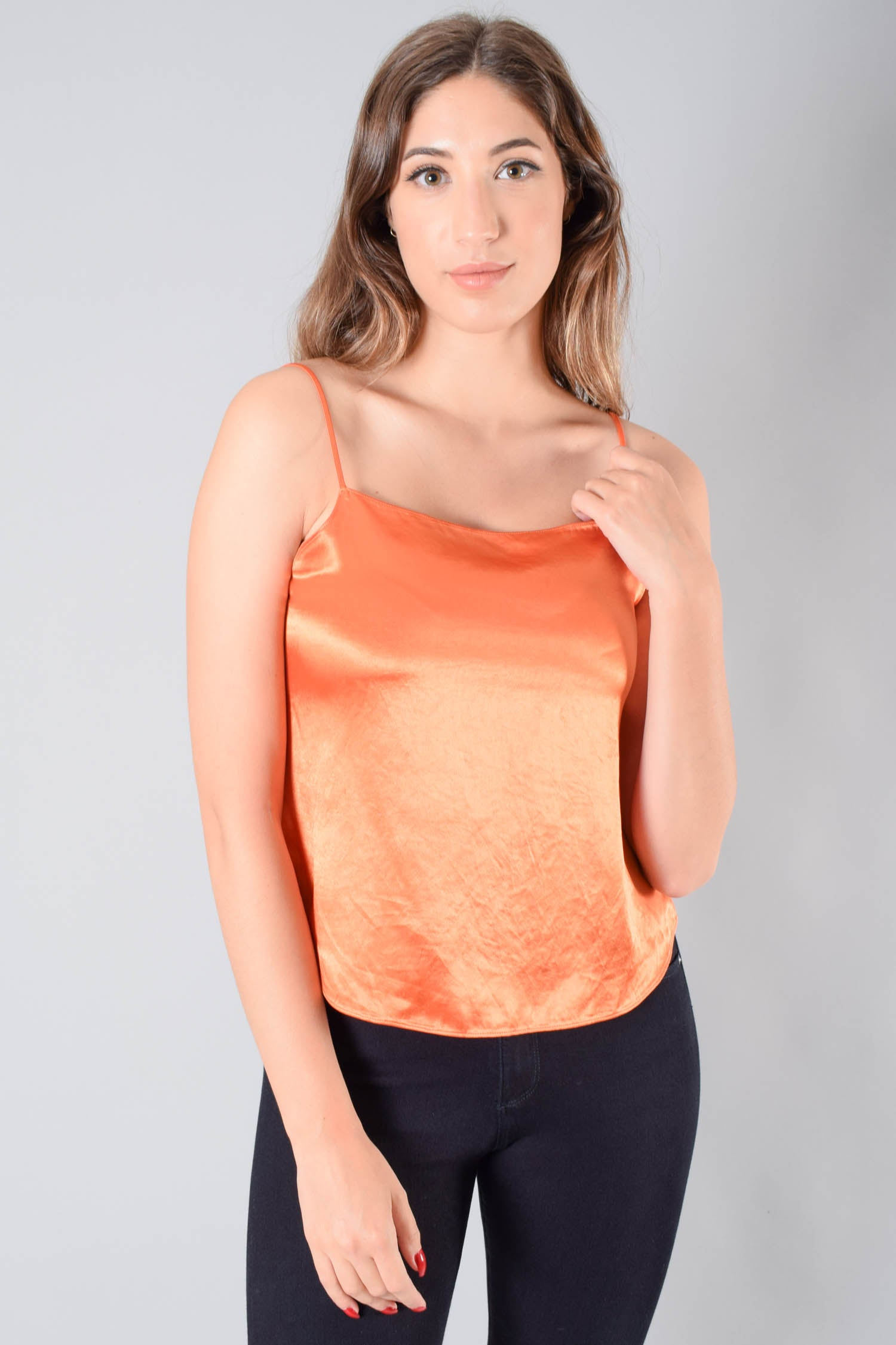 Babaton Orange Top Size S