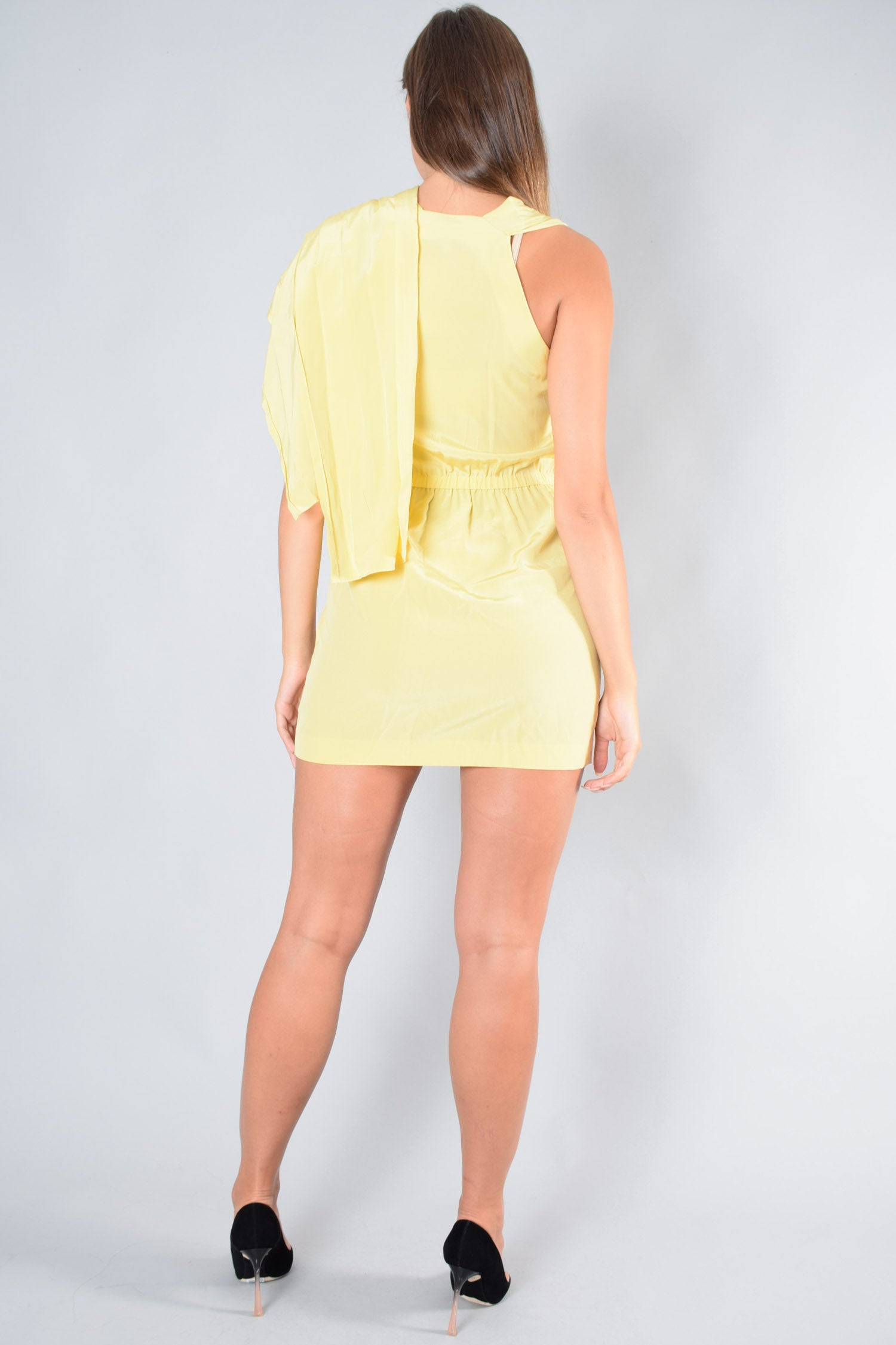 3.1 Phillip Lim Yellow Sleeveless Dress Size 4