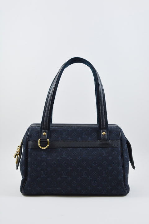 Louis Vuitton Denim Mini Lin Josephine PM Bag