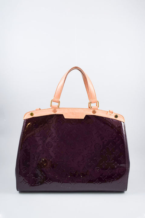 Louis Vuitton Amarante Vernis Brea GM