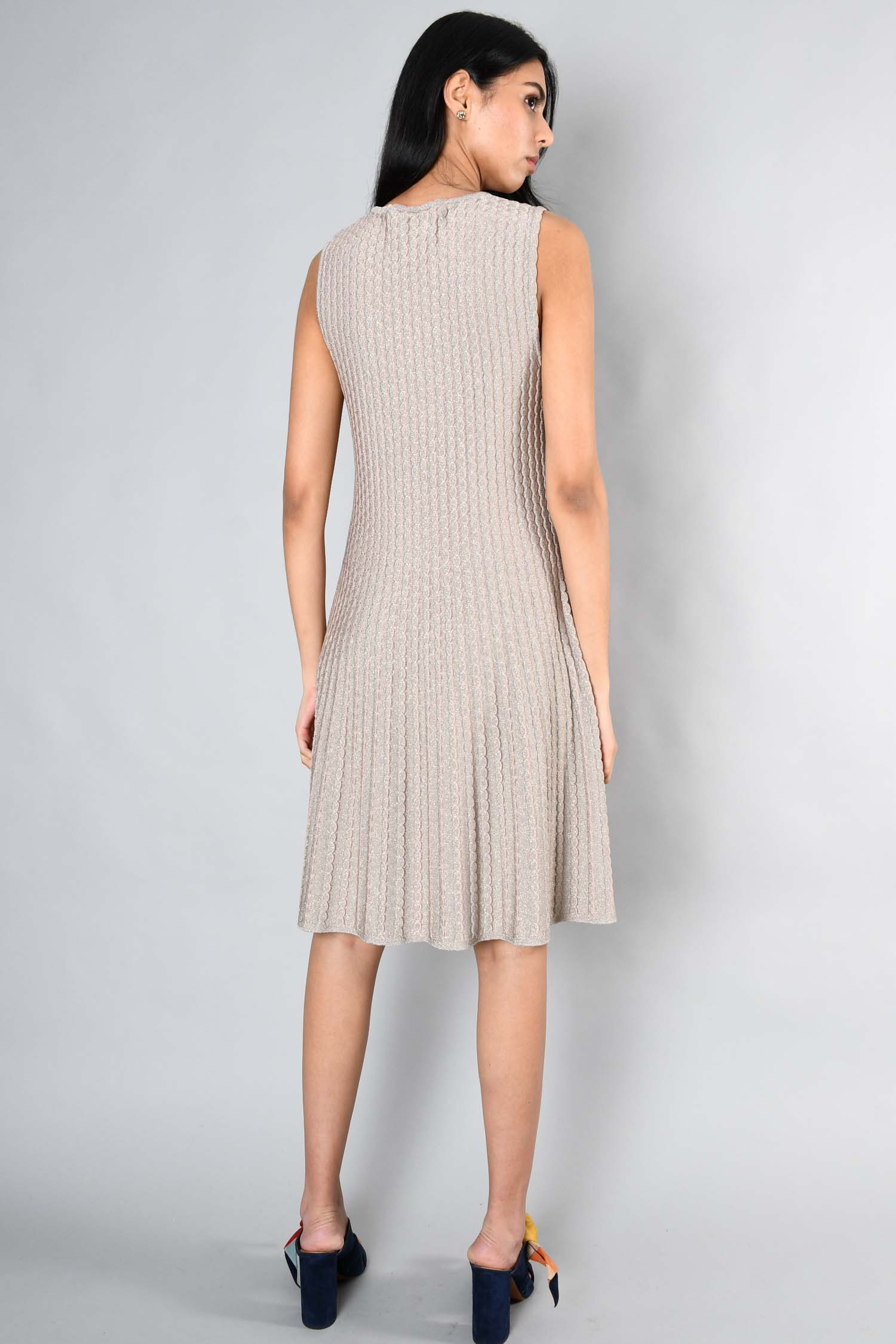 Missoni Blush Knit Dress Size 46