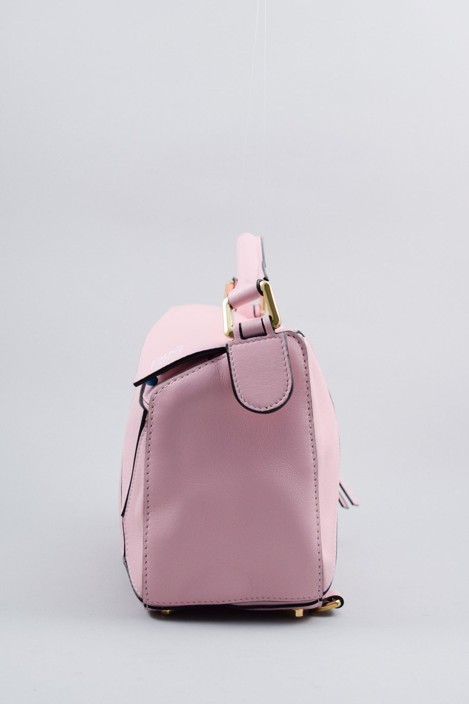 Loewe Pink Small Puzzle Bag