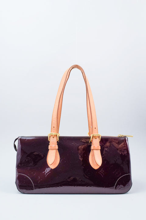Louis Vuitton Amarante Vernis Leather Rosewood Bag