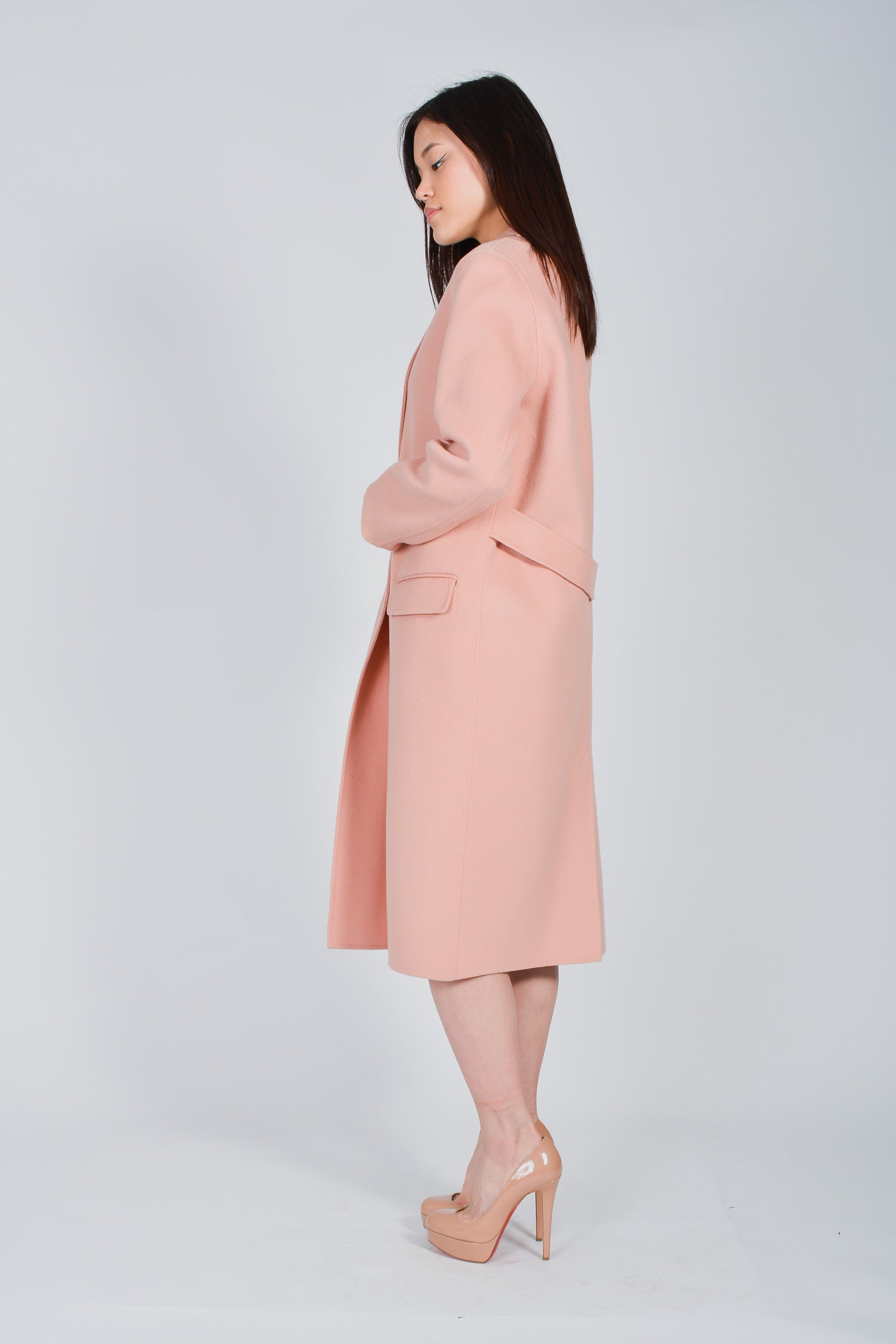 Mackage Pink Wool Hens Coat Size Small