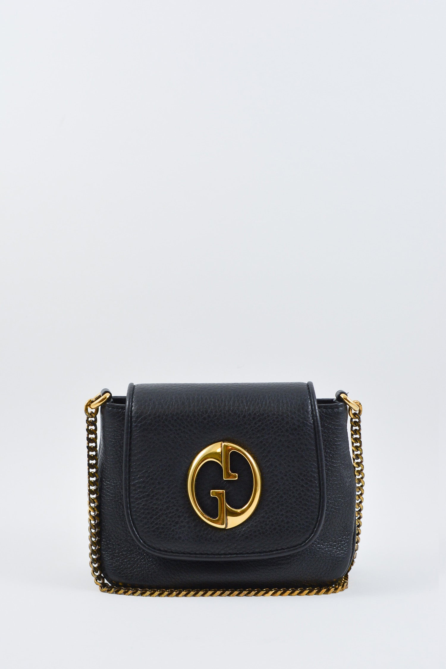 d6bc2bbf2fa Gucci Small Black 1973 Crossbody – Mine   Yours - Vancouver Luxury ...