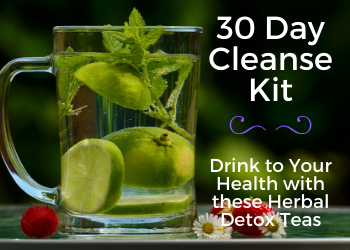 Tea Box - 30 Day Cleanse Kit / Detox Box
