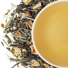 Load image into Gallery viewer, Sweet Ginger Tea - Green tea with Ginger chuncks