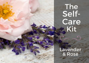 Roses & Lavender Box - Self Care Kit