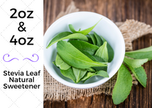 Load image into Gallery viewer, Stevia Leaf - Natural Whole Leaf Sweetner