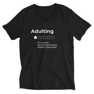 1 Star Adulting - V neck TShirt
