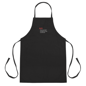 CookOut - Embroidered Apron