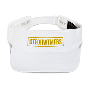 GTFOH Gold Embroidery - Visor