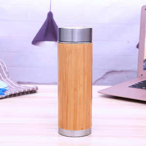 Bamboo Water Bottle with Tea Infuser