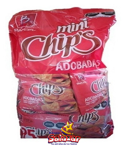 "BARCEL MINI CHIPS ADOBADA -B.450GR. ""C/6/25"""