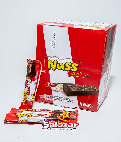 "CHOCOLATE NUSS BAR ELVAN D.-432GR.- ""C/12/48"""