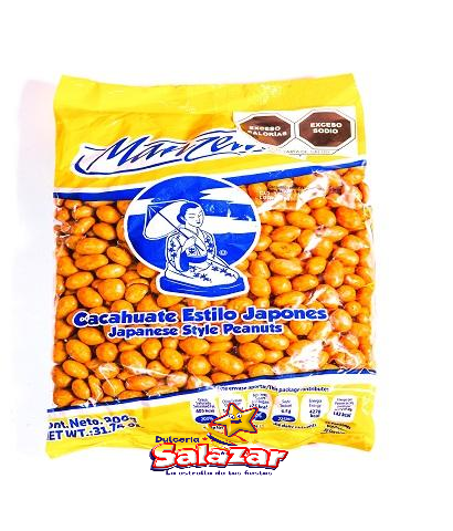 "CACAHUATE JAPONES MANZELA -B.900G.- ""C/24/900G"""