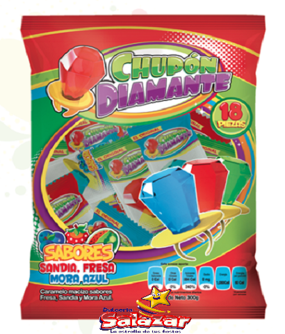 "CHUPON DIAMANTE CHOMPYS B.-300G.- ""C/14/18"""
