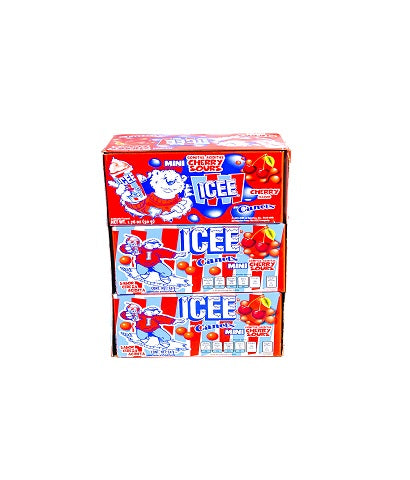 "JELLY BEANS CEREZA ICEE MINI CANELS -D.450G.- ""C/24/9"""