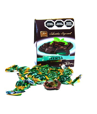 "PIRAMIDE SELECCION SUPREMA CHOCOLATE MENTA DLR -D.70G.- ""C/12/1"""