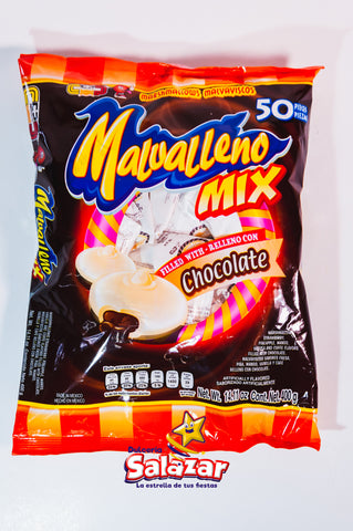 "MALVALLENO CHOCOLATE MIX CP B.-400GR.- ""C/12/50"""