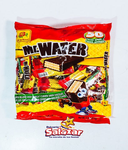 "MR.WAFER GALLETA VAINILLA DLR B.-275G.-""C/24/50"""