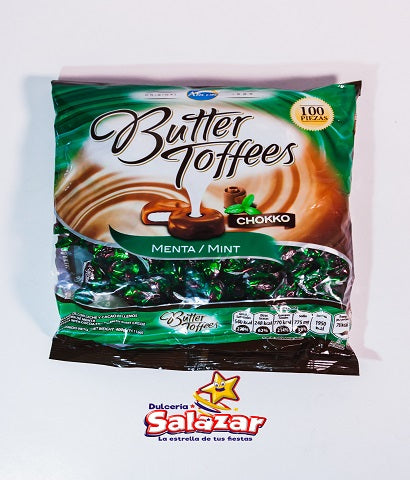 "BUTTER TOFFEES MINI CHOCOMENTA -B.400G.- ""C/12/100'P"""
