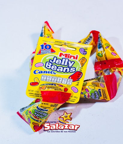 "JELLY BEANS MINI SURTIDO TRIANGULO CANELS -T.100G.- ""C/40/10"""