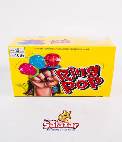 "RING POP CHUPON ANILLO -D.168G- ""C/6/12"""
