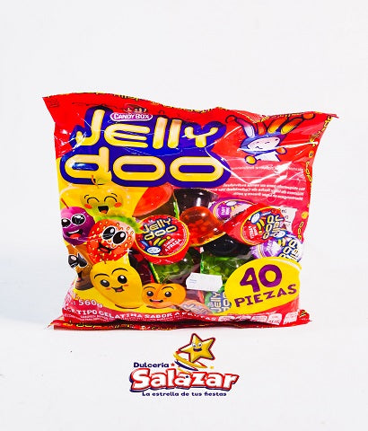 "GELATINA MINI JELLY-DOO B.-600G.- ""C/16/40"""