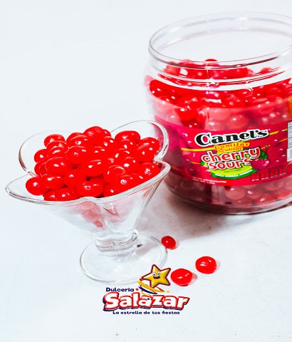 "JELLY BEANS CHERRY SOUR CANELS -V.-1.5KG- ""C/8/1.50KG"""